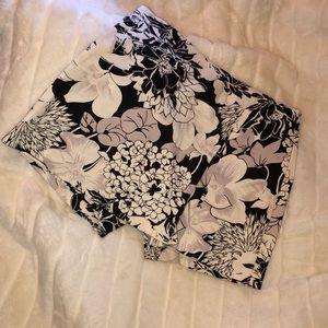 Cache floral cotton skirts